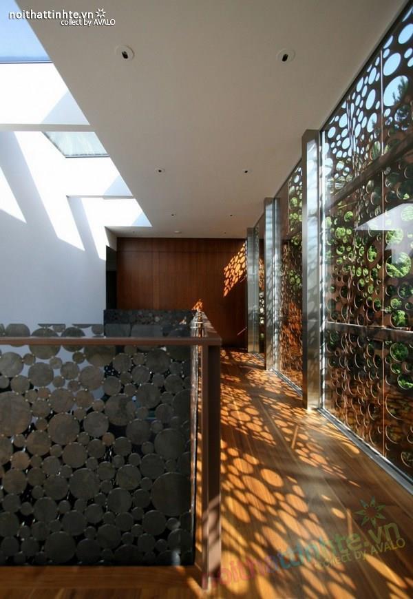 Mẫu nhà đẹp 2 tầng hiện đại Navalo Residence 08