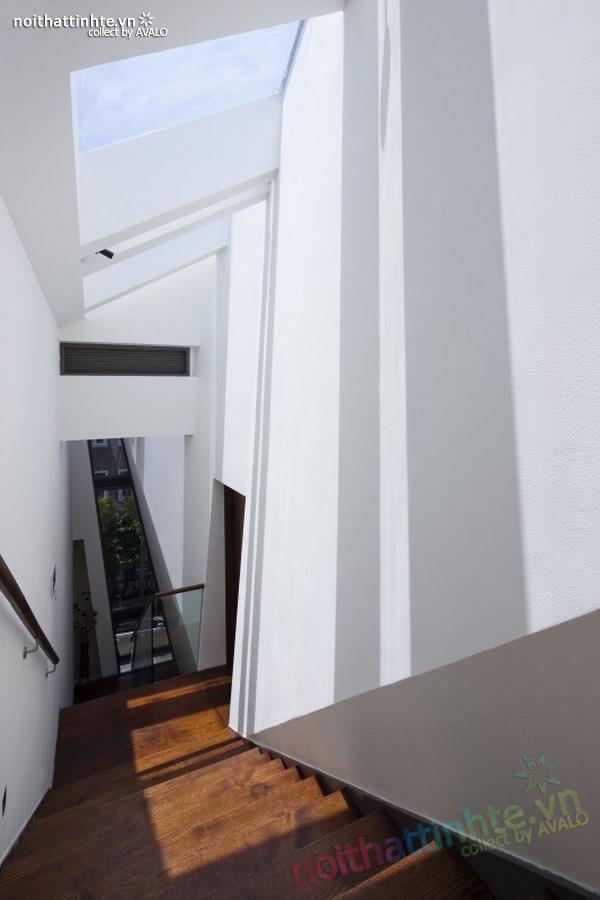 Thiết kế nhà lô phố đẹp, hiện đại tại Sài Gòn 02