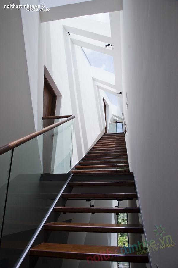 Thiết kế nhà lô phố đẹp, hiện đại tại Sài Gòn 06
