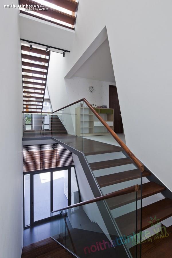 Thiết kế nhà lô phố đẹp, hiện đại tại Sài Gòn 07