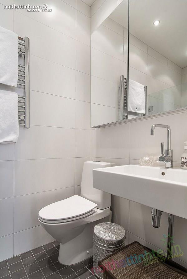 Thiết kế chung cư đẹp tại Thụy Điển nổi bật với vách kính 09