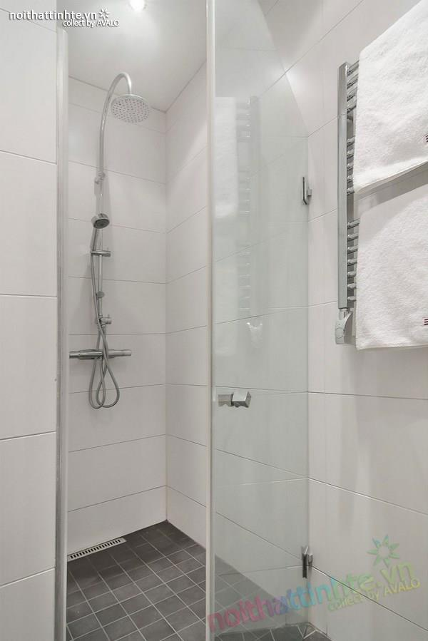 Thiết kế chung cư đẹp tại Thụy Điển nổi bật với vách kính 10