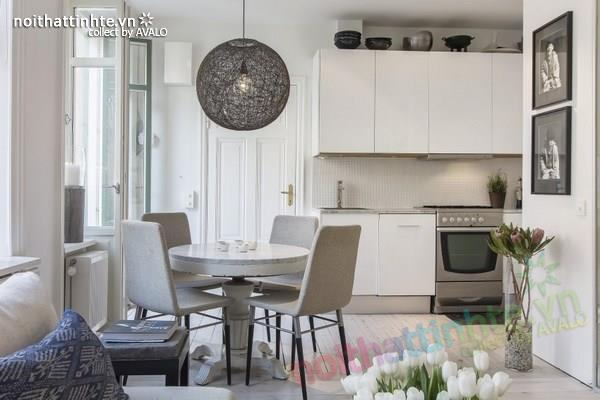Thiết kế chung cư đẹp tại Thụy Điển nổi bật với vách kính 07