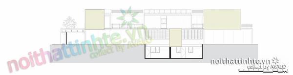 Thiết kế nhà đẹp cổ điển với hình khối độc đáo 09
