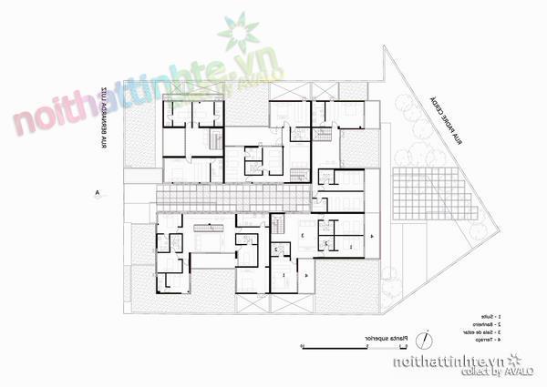 Thiết kế nhà đẹp cổ điển với hình khối độc đáo 06