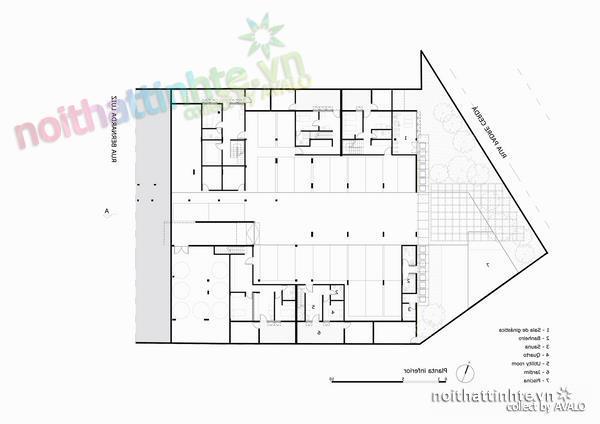 Thiết kế nhà đẹp cổ điển với hình khối độc đáo 07