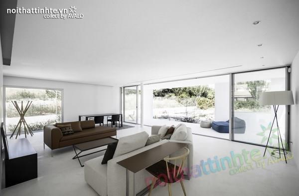 Nhà đẹp 2 tầng với không gian mở ở Tây Ban Nha 10