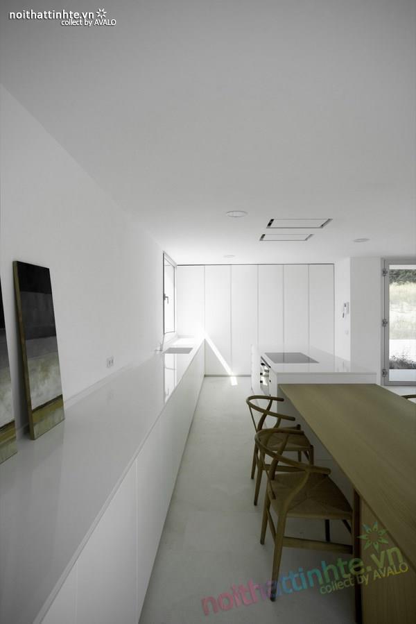Nhà đẹp 2 tầng với không gian mở ở Tây Ban Nha 02