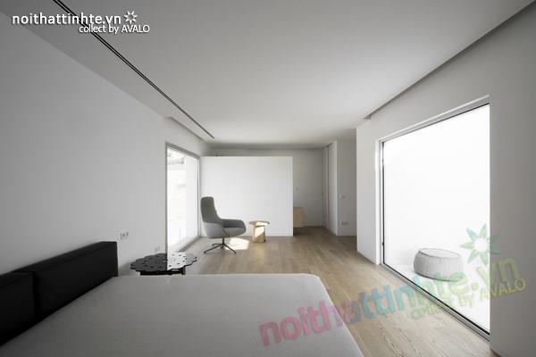 Nhà đẹp 2 tầng với không gian mở ở Tây Ban Nha 04