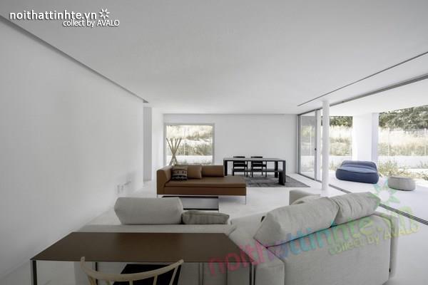 Nhà đẹp 2 tầng với không gian mở ở Tây Ban Nha 07