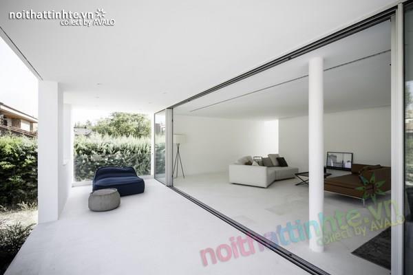 Nhà đẹp 2 tầng với không gian mở ở Tây Ban Nha 08