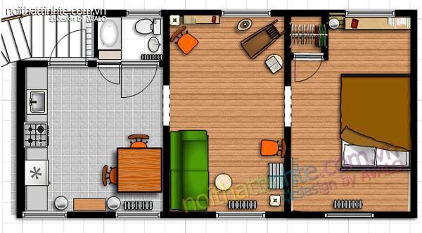Để có một thiết kế nội thất chung cư đẹp 01