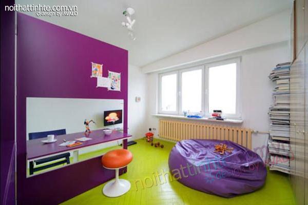 thiết kế nội thất nhà nhỏ đẹp 21m2-03