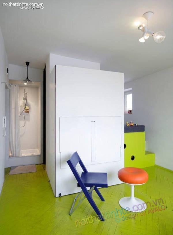 thiết kế nội thất nhà nhỏ đẹp 21m2-04