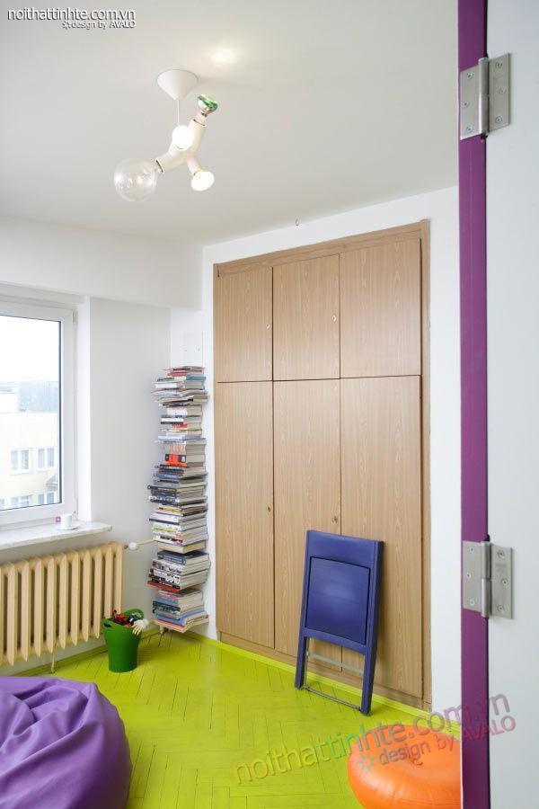 thiết kế nội thất nhà nhỏ đẹp 21m2-09