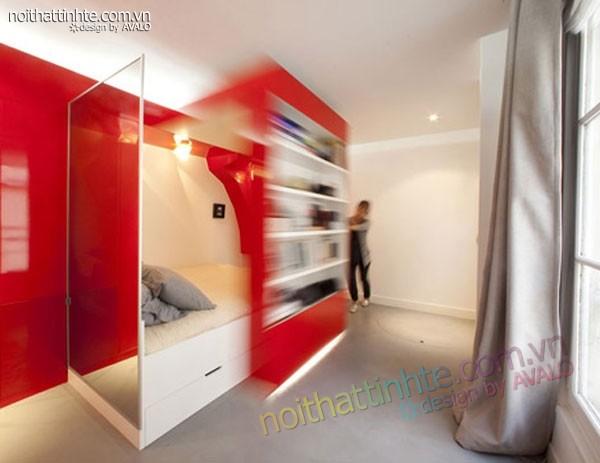 căn hộ chung cư cao cấp 23m2 Paris - 02