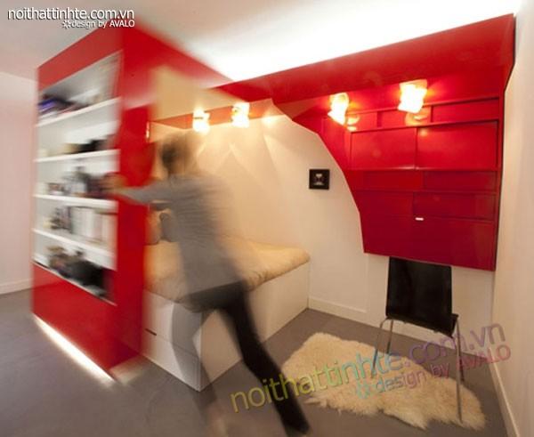 căn hộ chung cư cao cấp 23m2 Paris - 03