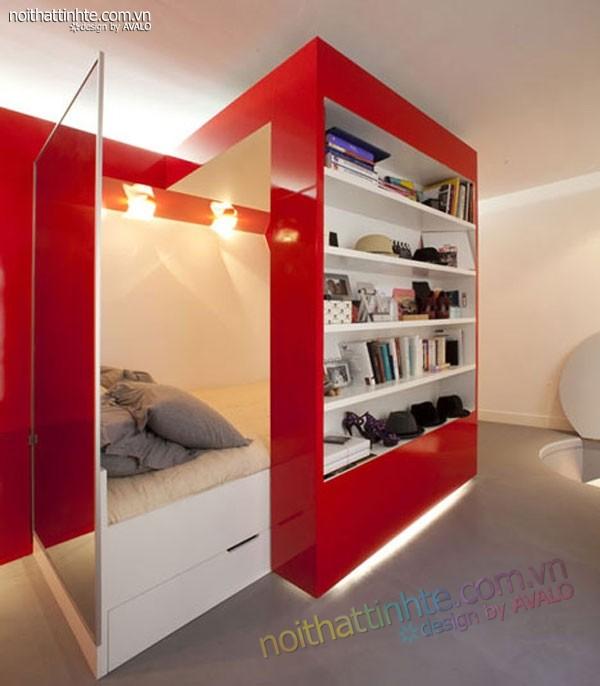 căn hộ chung cư cao cấp 23m2 Paris - 05