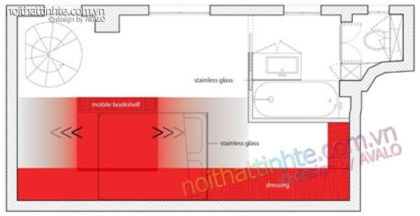 căn hộ chung cư cao cấp 23m2 Paris - 12