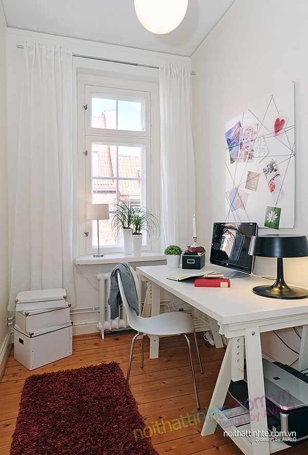 nội thất căn hộ chung cư duyên dáng hài hòa 10