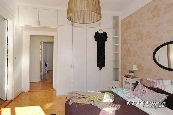 nội thất căn hộ chung cư duyên dáng hài hòa 11