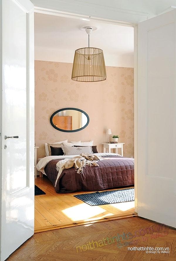 nội thất căn hộ chung cư duyên dáng hài hòa 13