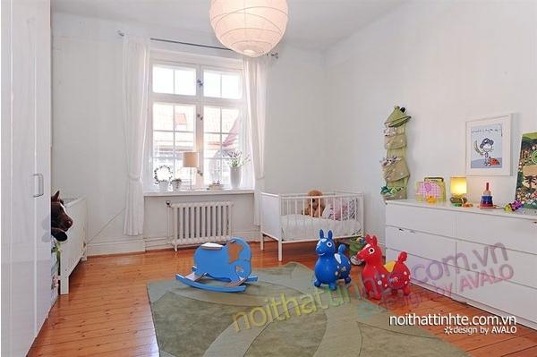 nội thất căn hộ chung cư duyên dáng hài hòa 14