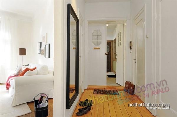 nội thất căn hộ chung cư duyên dáng hài hòa 15