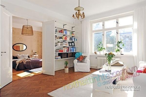 nội thất căn hộ chung cư duyên dáng hài hòa 17