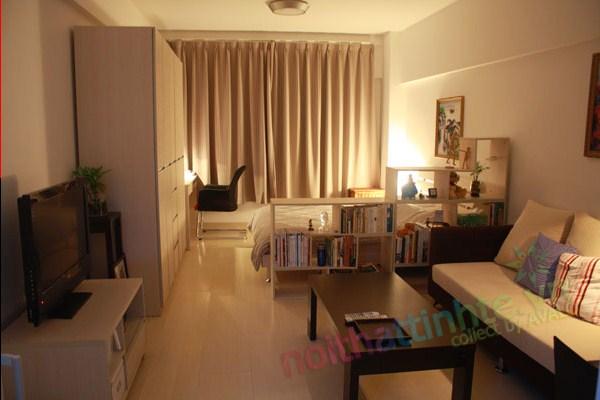 trang trí nội thất nhà nhỏ 43 m2 01