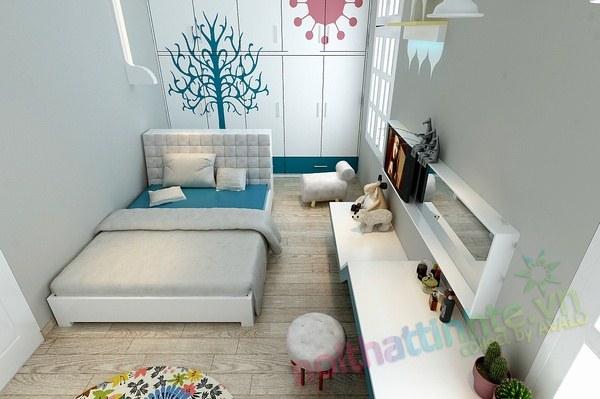 Trang trí phòng ngủ con gái 03