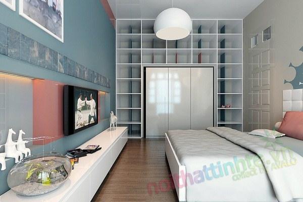 Trang trí phòng ngủ con trai chú huyền 02