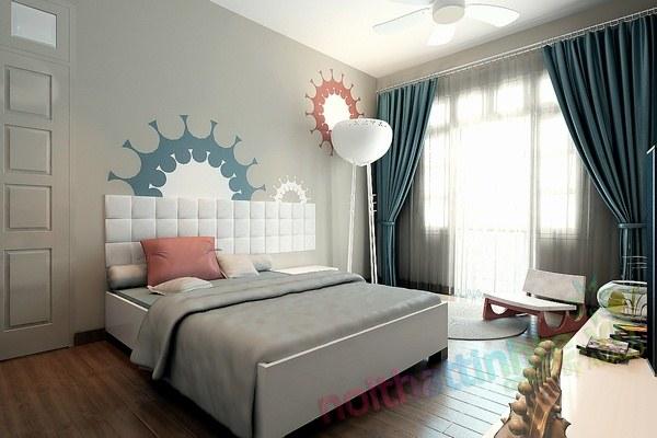 Trang trí phòng ngủ con trai chú huyền 03