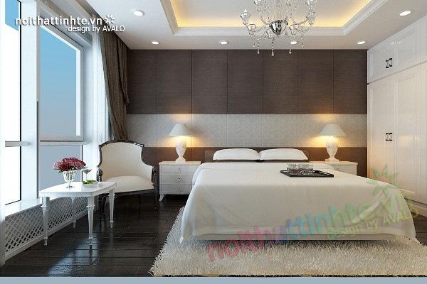 Trang trí nội thất phòng ngủ sang trọng ở Maxcova 02