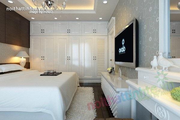 Trang trí nội thất phòng ngủ sang trọng ở Maxcova 03