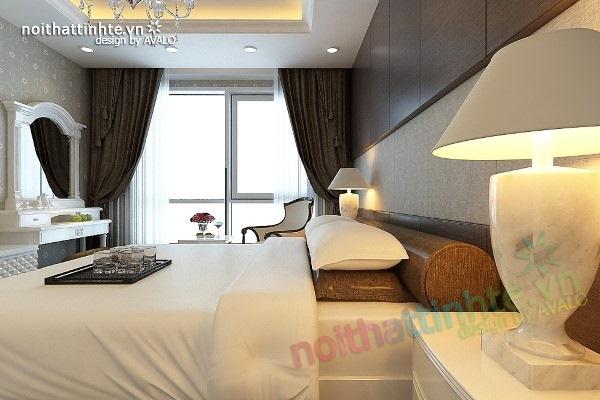 Trang trí nội thất phòng ngủ sang trọng ở Maxcova 05
