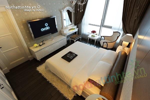 Trang trí nội thất phòng ngủ sang trọng ở Maxcova 06