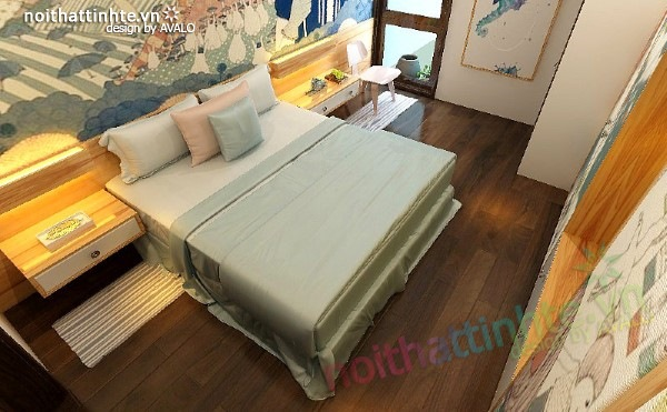Thiết kế nội thất phòng ngủ trẻ em 02