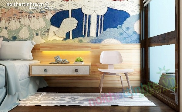 Thiết kế nội thất phòng ngủ trẻ em 03