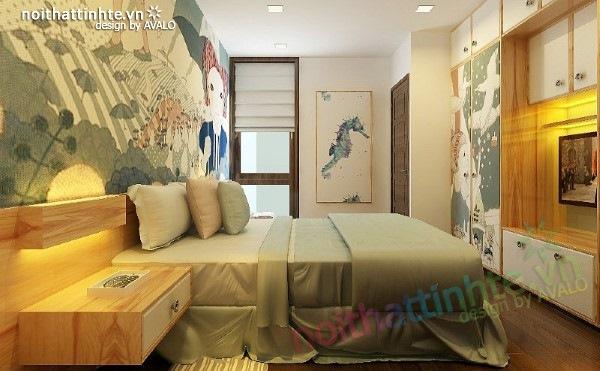 Thiết kế nội thất phòng ngủ trẻ em 07