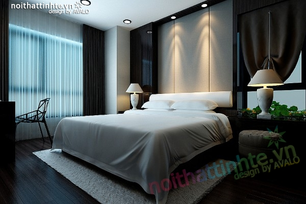 Thiết kế nội thất chung cư Skycity 88 Láng Hạ 120 m2