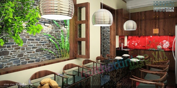 Thiết kế cải tạo nhà lô phố   Chú Huyền PVC