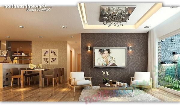 Thiết kế nội thất chung cư hiện đại nhà A Hợi Tam Đa 03