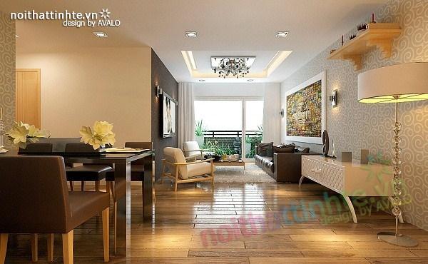 Thiết kế nội thất chung cư hiện đại nhà A Hợi Tam Đa 04