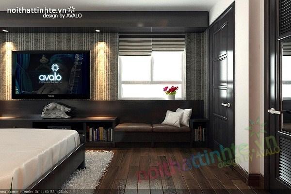 Thiết kế nội thất chung cư hiện đại nhà A Hợi Tam Đa 08