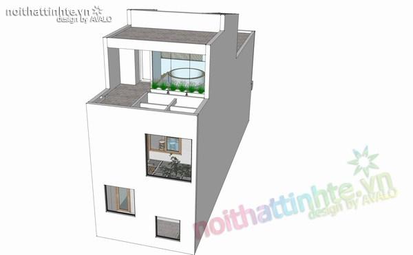 thiết kế nhà đẹp 2 tầng 11