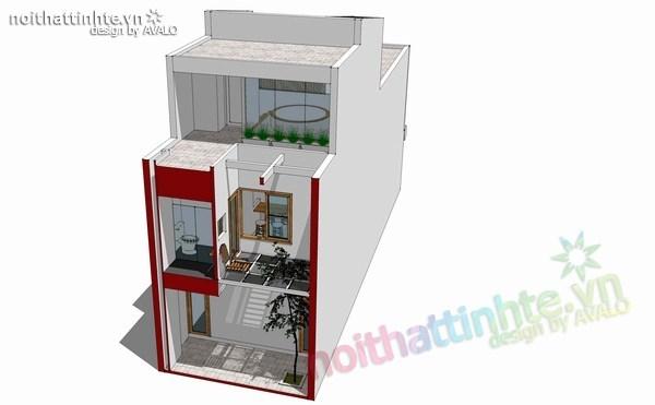 thiết kế nhà đẹp 2 tầng 12