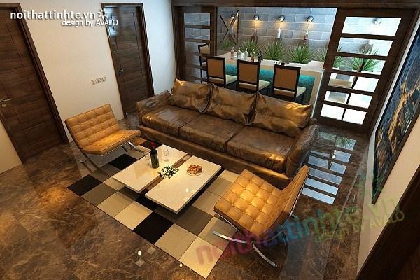 Thiết kế nội thất biệt thự Việt Hưng 10
