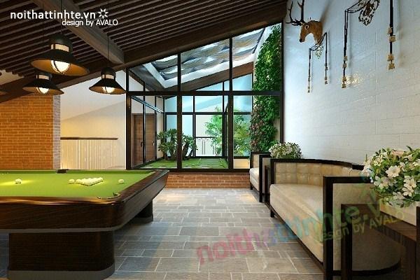 Thiết kế nội thất biệt thự Việt Hưng 13