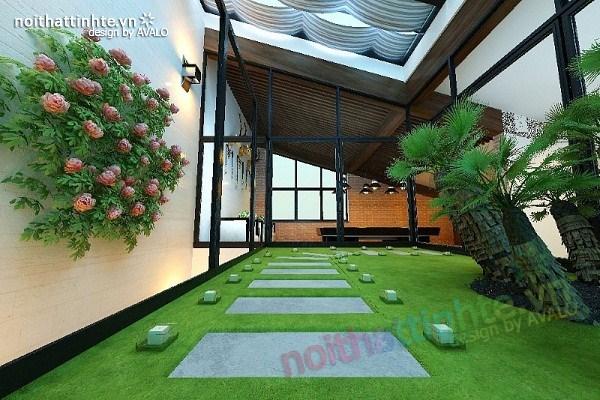 Thiết kế nội thất biệt thự Việt Hưng 14